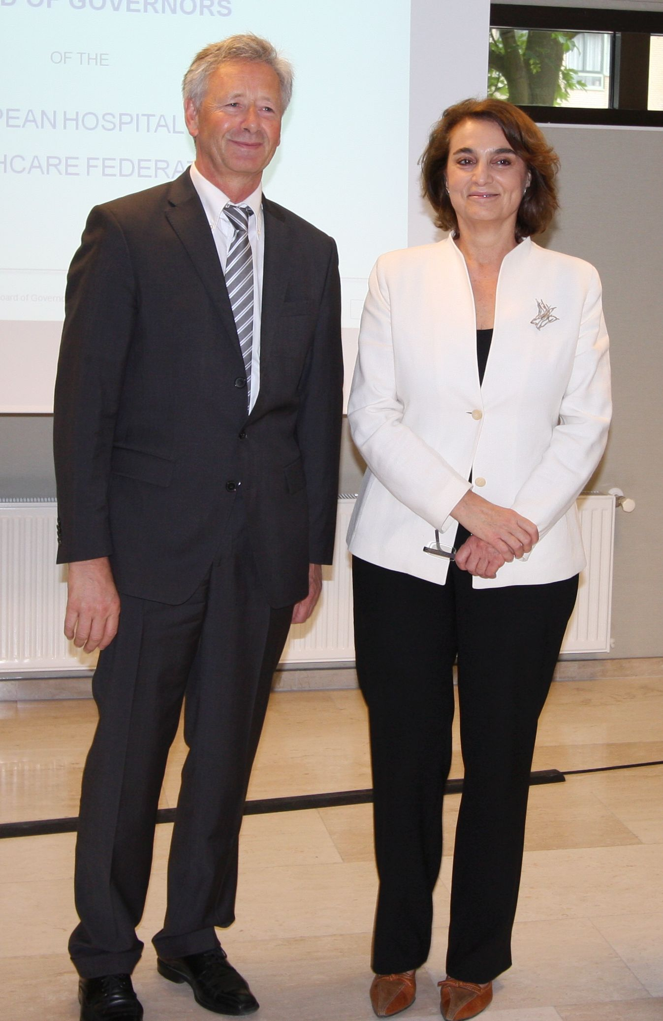 Georg Baum (past) and Sara Pupato (new)